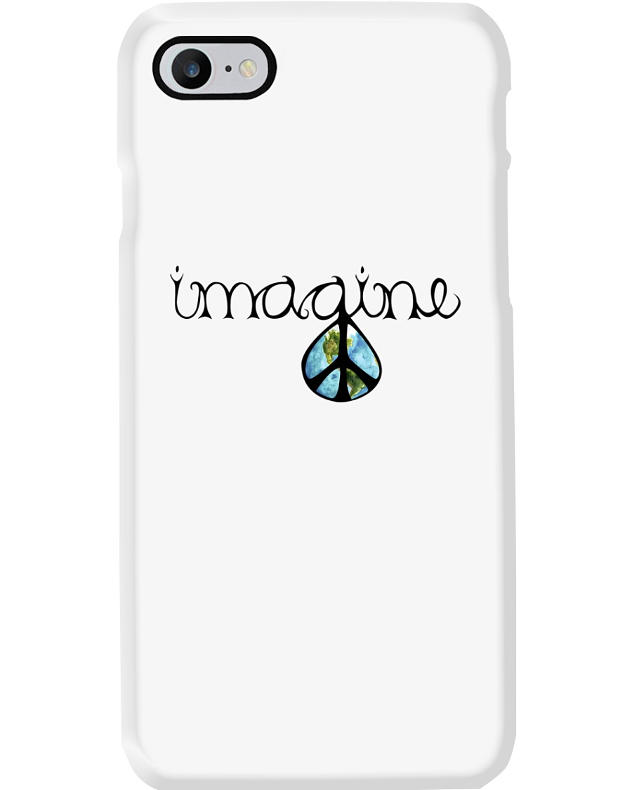 Imagine Peace Hippie Phone Case