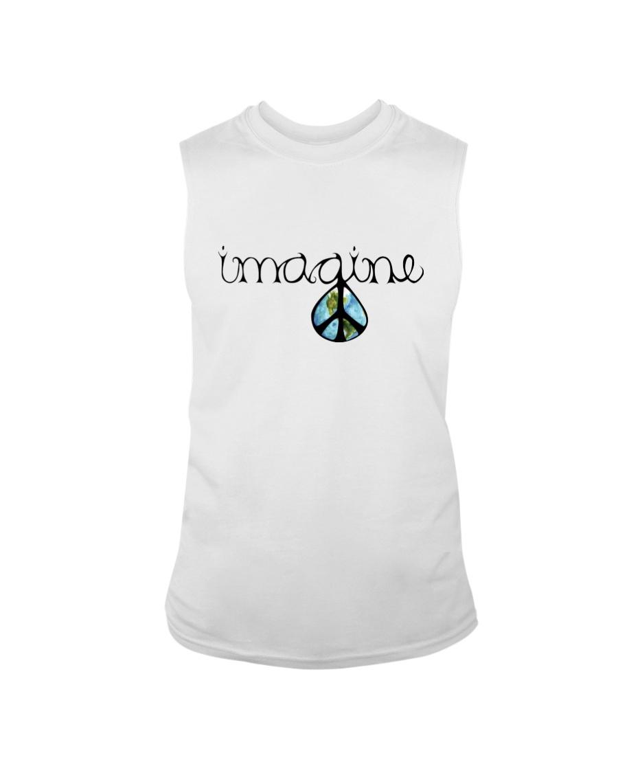 Imagine Peace Hippie Sleeveless Tee