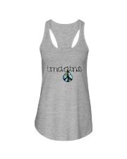 Imagine Peace Hippie Ladies Flowy Tank thumbnail