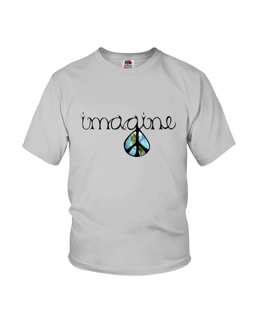 Imagine Peace Hippie Youth T-Shirt showcase
