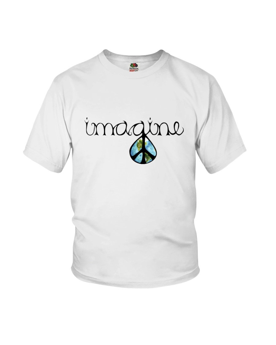 Imagine Peace Hippie Youth T-Shirt
