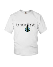 Imagine Peace Hippie Youth T-Shirt thumbnail