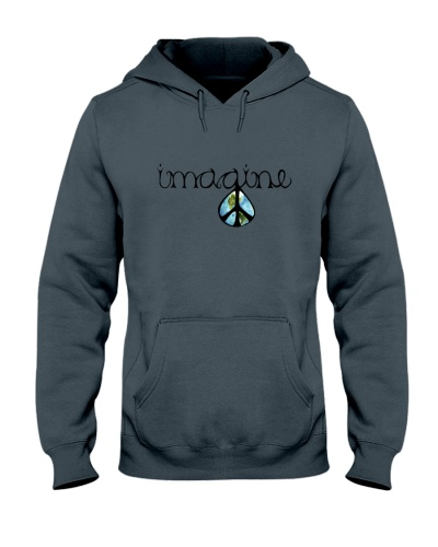 Imagine Peace Hippie
