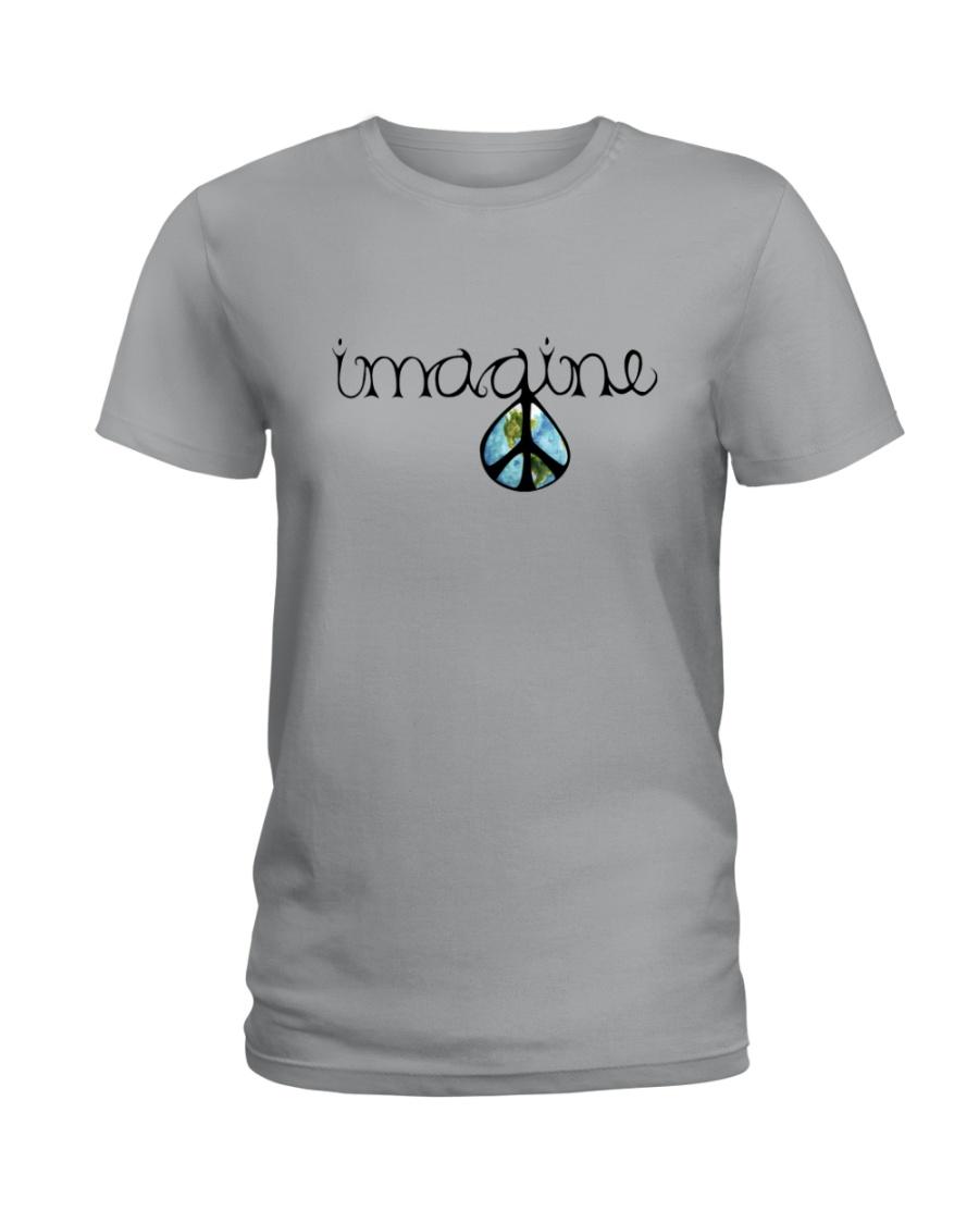 Imagine Peace Hippie Ladies T-Shirt
