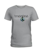 Imagine Peace Hippie Ladies T-Shirt front