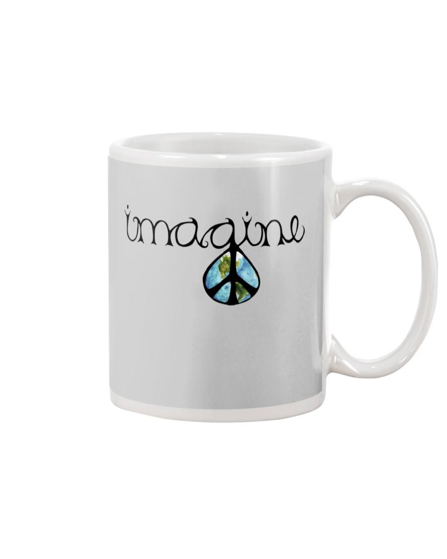 Imagine Peace Hippie Mug