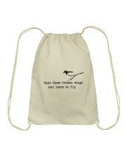 Take These Broken Wings Drawstring Bag tile