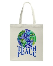 Teace Peace Tote Bag thumbnail