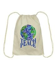 Teace Peace Drawstring Bag thumbnail