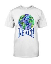 Teace Peace Classic T-Shirt thumbnail