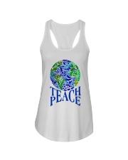 Teace Peace Ladies Flowy Tank thumbnail