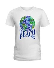 Teace Peace Ladies T-Shirt thumbnail