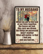 To My Husband 11x17 Poster lifestyle-poster-3