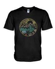 Let It Be 1 V-Neck T-Shirt thumbnail