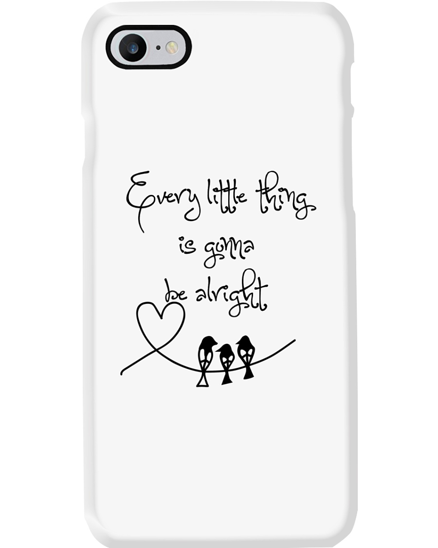 Every Little Thing Is Gonna Be Alright Hippie  Phone Case