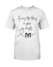 Every Little Thing Is Gonna Be Alright Hippie  Classic T-Shirt thumbnail