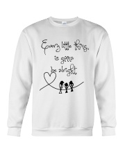 Every Little Thing Is Gonna Be Alright Hippie  Crewneck Sweatshirt thumbnail