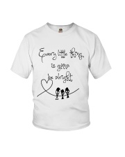 Every Little Thing Is Gonna Be Alright Hippie  Youth T-Shirt thumbnail