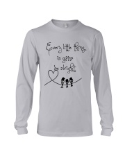 Every Little Thing Is Gonna Be Alright Hippie  Long Sleeve Tee thumbnail