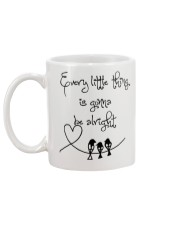 Every Little Thing Is Gonna Be Alright Hippie  Mug back