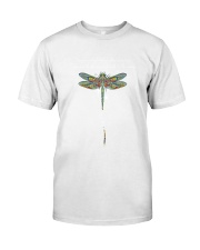 Touch Dragonflies And Star Classic T-Shirt front