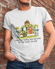 Country Roads Take Me Home Classic T-Shirt apparel-classic-tshirt-lifestyle-26