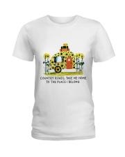 Country Roads Take Me Home Ladies T-Shirt thumbnail