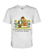 Country Roads Take Me Home V-Neck T-Shirt thumbnail