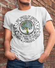 What A Wonderful World Classic T-Shirt apparel-classic-tshirt-lifestyle-26