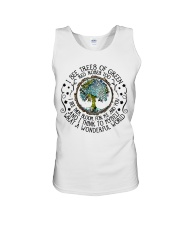 What A Wonderful World Unisex Tank tile