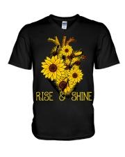 Rise And Shine V-Neck T-Shirt thumbnail