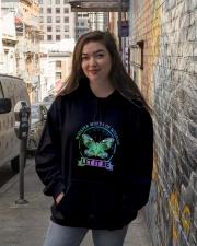 Whisper Words Of Wisdom Hooded Sweatshirt lifestyle-unisex-hoodie-front-1