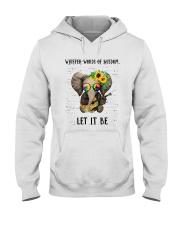 Whisper Words Of Wisdom Hooded Sweatshirt front