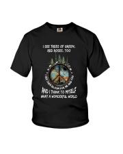 Myself What A Wonderful World 2 Youth T-Shirt thumbnail