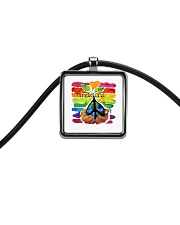 Imagine Cord Rectangle Necklace thumbnail