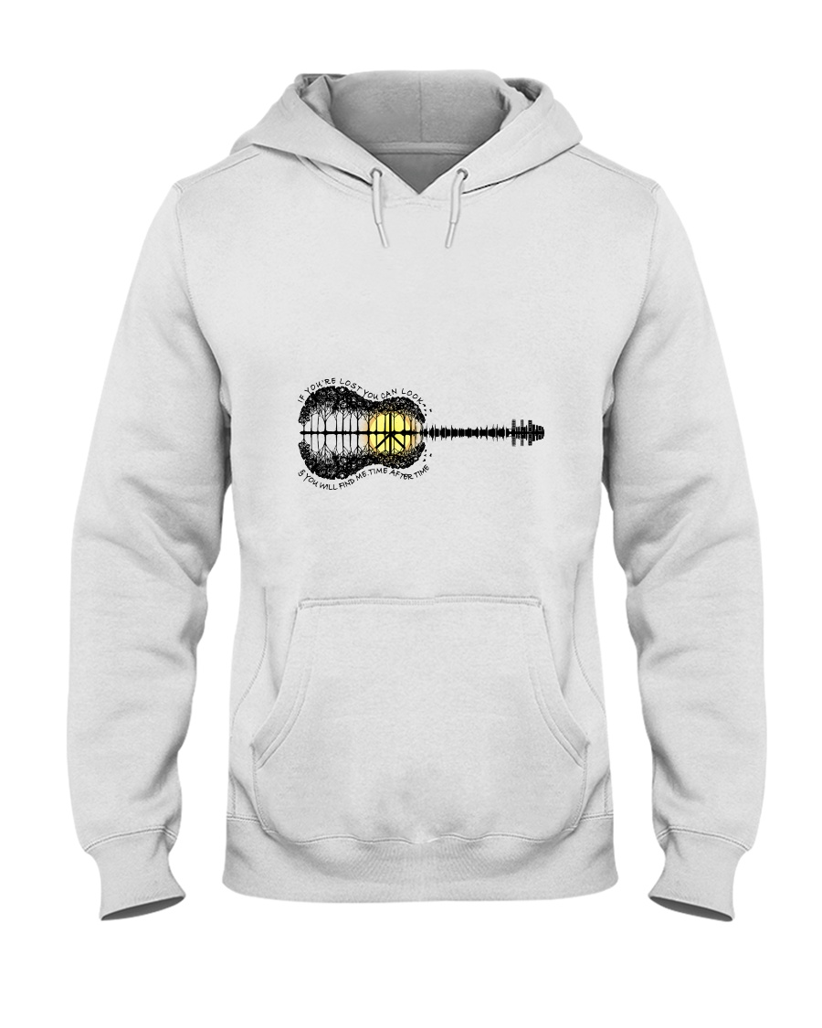 If You Are Lost Hooded Sweatshirt