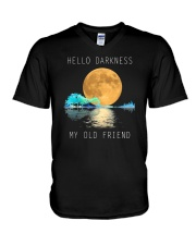Hello Darkness My Old Friend 2 V-Neck T-Shirt thumbnail