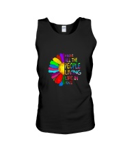 People Living Life In Peace Unisex Tank thumbnail