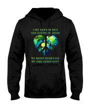I See Skies Of Blue And Clouds Hooded Sweatshirt thumbnail