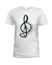 Take A Sad Song And Make It Better Ladies T-Shirt tile