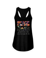 Hippie Peace Ladies Flowy Tank thumbnail