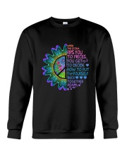 When The Storm Rips You To Pieces Crewneck Sweatshirt thumbnail