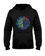 When The Storm Rips You To Pieces Hooded Sweatshirt front