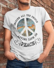 People Living Life In Peace Classic T-Shirt apparel-classic-tshirt-lifestyle-26
