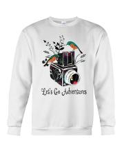 Lets Go Adventure Crewneck Sweatshirt thumbnail