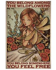 Among The Wildflowers 11x17 Poster front