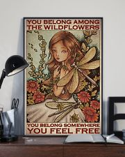 Among The Wildflowers 11x17 Poster lifestyle-poster-2