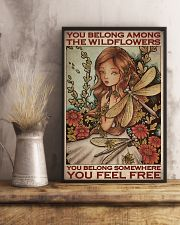 Among The Wildflowers 11x17 Poster lifestyle-poster-3