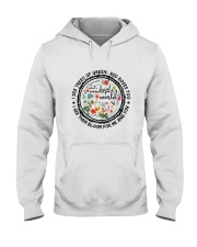 I See Trees Of Green Hooded Sweatshirt front