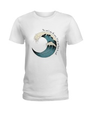 Learn To Surf Ladies T-Shirt thumbnail